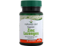 Zinc Lozenges with Rosehip + Vitamin C (30 Lozenges)