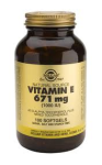 Vitamin E 671mg (1000iu) (100 Mixed Softgels)