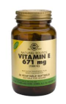 Vitamin E 671mg (1000iu) (50 Vegetarian Softgels)