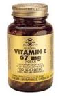 Vitamin E 67mg (100iu) (100 Mixed Softgels)