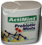 ActiMint Probiotic Mints ( 60 tabs )