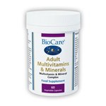 Adult Multivitamins & Minerals  ( 60 Veg Caps )