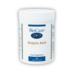 Butyric acid complex (calcium and magnesium butyrate)  Veg caps (90)