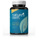 Fish Oil: Omega 3 -1000mg Fish Oil/550mg EPA/DHA 60 caps