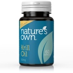 Krill Oil  -  500mg ( 60 Capsules ) - For Heart, Brain & Vision