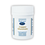 Copper gluconate 8mg (1mg elemental copper)  Tablets (90)