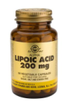 Alpha Lipoic Acid 200mg (50 Vegicaps)
