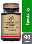 Amino 75 Essential Amino Acids 90 Vegetable Capsules