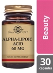 Alpha-Lipoic Acid 60 mg 30 Vegetable Capsules