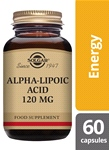 Alpha-Lipoic Acid 120 mg 60 Vegetable Capsules
