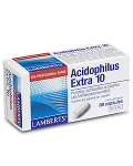 Acidophilus Extra 10 (10 billion friendly bacteria per capsule) 30 caps