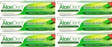 Original Triple Action Toothpaste - Fluoride Free - 100ml (6 pack)