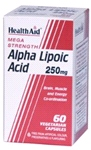 Alpha Lipoic Acid 250mg (60 VegiCaps)