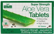 Aloe Vera (60 Tablets) Super Strength One-a-Day