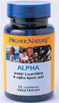 Alpha Lipoic Acid and Acetyl-l-Carnitine VV capsule (90)
