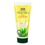Organic Sun Lotion SPF 25 (200ml) - aloe vera based with organic herbal extracts