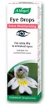 Eye drops Extra Moisturising containing Euphrasia and Hyaluronic Acid (10ml) - For extremely dry, tired & irritated eyes