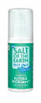 Salt of the Earth Foot Spray (100ml) - Effective natural deodorant for your feet
