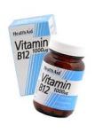 Vitamin B12 (Cyanocobalamin) 1000µg - Prolonged Release (50 tablets)