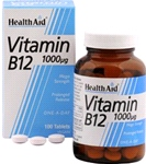 Vitamin B12 (Cyanocobalamin) 1000µg - Prolonged Release (100 tablets)