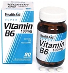 Vitamin B6 (Pyridoxine HCl) 100mg (90 tablets)