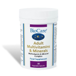 Adult Multivitamins & Minerals  (30 Veg Caps)
