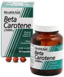 Beta-Carotene 15mg (30Capsules)