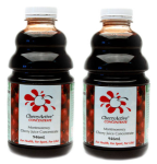 CherryActive Concentrate ( 946 ml  X 2 )- Montmorency Cherry Juice - As seen on TV .