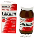Calcium 600mg - Chewable  (60 tablets)