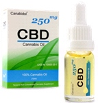 Canabidol CBD Cannabis Oil Dropper 250mg (10ml)