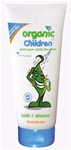 Organic Children Bath & Shower -Citrus & Aloe Vera (200ml)