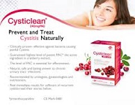 Cysticlean - 240mg PAC (30 VCapsules)  1 PACK - For Healthy Urinary System