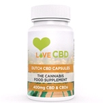 400mg Dutch CBD Capsules – 80 x 5mg CBD Capsules