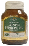 Evening Primrose Oil: GLA 10% -Omega 6 (500mg) 90 veg caps