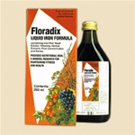 Floradix Liquid Iron (250ml) - A womans first choice for health, energy and vitality.