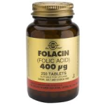 Folacin  (Folic Acid  ) 400ug (250 Tabs) - as recommended in