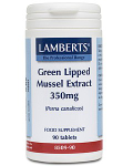 Green Lipped Mussel Extract 350mg- 90 tabs
