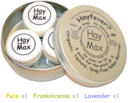 HayMax MIXED Triple Pack (5ml x 3) - Organic Pollen Barrier Balm
