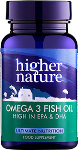 Omega 3 Fish Oil (High in EPA & DHA) - 180 Gel Caps