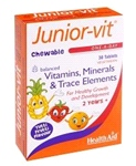 Junior-vit - Chewable (Tutti-fruity Flavour) (Age 2 plus) (30 tablets)