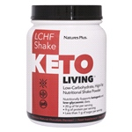 KetoLiving™ Low-Carb, High-Fat Chocolate Shake (675g Powder)