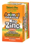 Animal Parade Kid Zinc (90 lozenges-tangerine flavour)