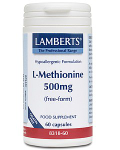 L-Methionine 500mg 60 caps