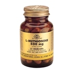 L-Methionine 500mg (30 Vegicaps)