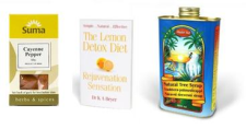 Madal Bal Natural Tree Syrup ... (1 Ltr) PLUS The Lemon Detox Diet Book Plus Cayenne Pepper (50g)