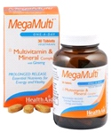 Mega-Multi's (with Ginseng)- (30 tablets)