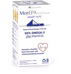 MorEPA Platinum Highest Omega 3 with Vitamin D 1100mg (orange flavour) - 60 Softgels