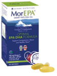 MorEPA -fish oil (60 Softgels)  ORANGE  FLAVOUR,  One-A-Day  -  For adults
