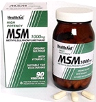MSM 1000mg Tablets (90 tablets)