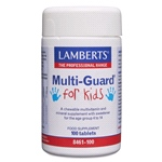 Multi-Guard for Kids - Tasty chewable vitamins and minerals for children aged 4-14 years (100 Tablets)